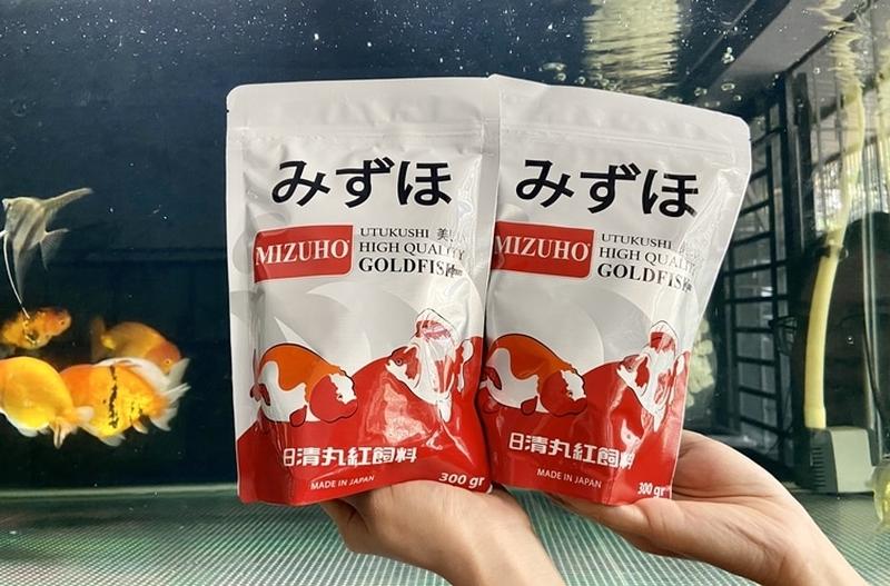 Mua cám Mizuho Goldfish tại Mew.vn