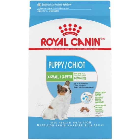 Thức Ăn Chó Con Cỡ Siêu Nhỏ - Royal Canin X-Small Puppy Dry 1